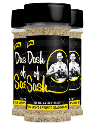 Dash of Sash Bottle Label and Website Design